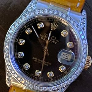 Rolex DateJust 16013 '87 1.50ctw Diamond, 36mm